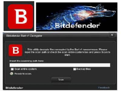 Téléchargez Bitdefender Bart Decryptor (Gratuit)