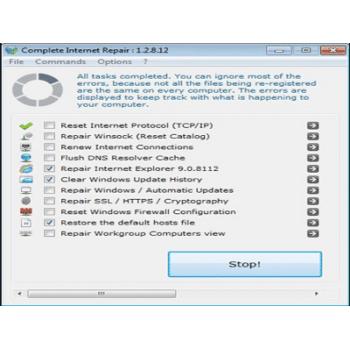 Téléchargez Complete Internet Repair
