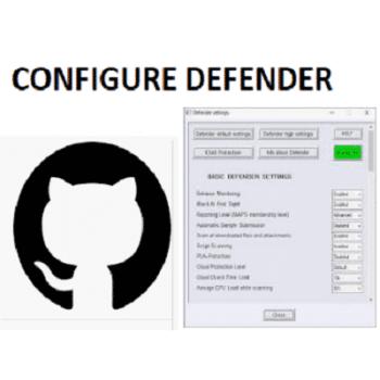 Téléchargez ConfigureDefender (Gratuit)