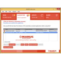 Téléchargez Ikarus Antivirus