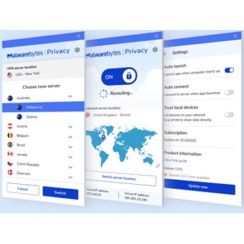 Téléchargez Malwarebytes Privacy