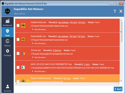 Téléchargez RogueKiller Anti-Malware (Gratuit)
