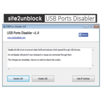 Téléchargez USB Ports Disabler (Gratuit)