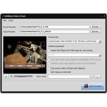 Télécharger S4B Video to Flash (Gratuit)